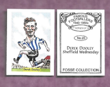 Sheffield Wednesday Derek Dooley 20 (FC)